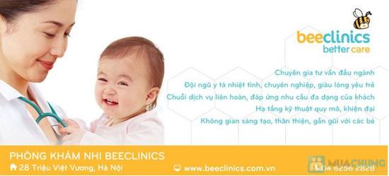 Gói chăm sóc sức khỏe Tai - Mũi - Họng cho bé tại Phòng khám nhi BEECLINICS - Chỉ với 199.000đ - 4