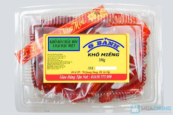 Khô bò miếng Châu Đốc - thương hiệu Sáu Bảnh - Chỉ 130.000đ/01 hộp - 2