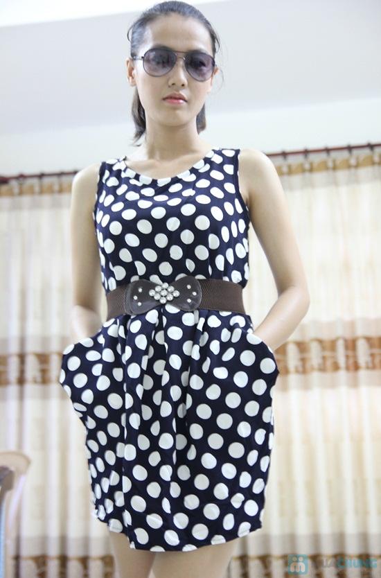 Đầm chấm bi 02 túi - Nữ tính cổ điển, thanh lịch hiện đại - Chỉ 80.000đ/chiếc - 6