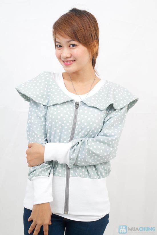 Áo khoác nữ cổ petterpan - Chỉ 110.000đ/01 chiếc - 4
