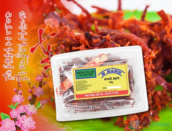 Khô bò sợi Châu Đốc thơm ngon - Chỉ 130.000đ/01 hộp - 4