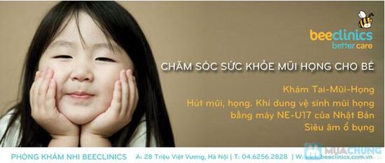 Gói chăm sóc sức khỏe Tai - Mũi - Họng cho bé tại Phòng khám nhi BEECLINICS - Chỉ với 199.000đ - 3