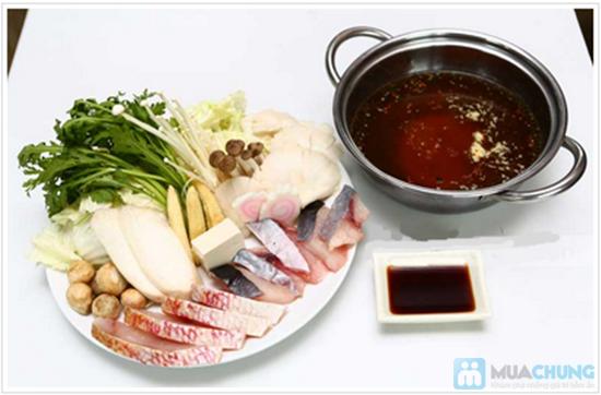 Chọn 1 trong 4 set sushi hoặc 4 set lẩu cho 1 người tại NH Shabu Sushi - 1
