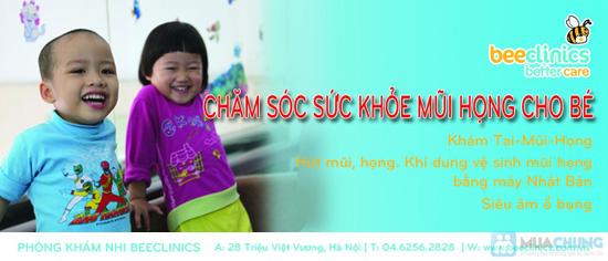 Gói chăm sóc sức khỏe Tai - Mũi - Họng cho bé tại Phòng khám nhi BEECLINICS - Chỉ với 199.000đ - 9