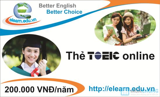 Thẻ học Toeic Online - Chỉ 99.000đ - 1