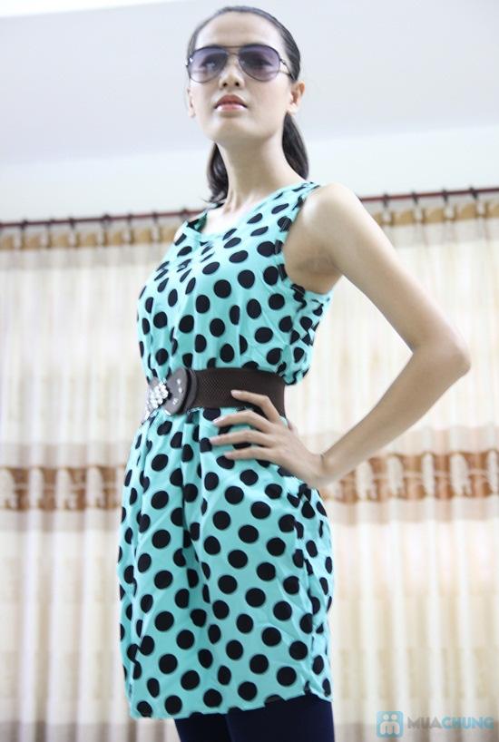 Đầm chấm bi 02 túi - Nữ tính cổ điển, thanh lịch hiện đại - Chỉ 80.000đ/chiếc - 5