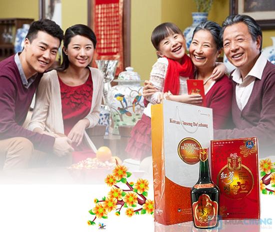 Nước hồng sâm 720ml - Chăm sóc sức khỏe cho cả gia đình - Chỉ 355.000đ/chai - 6