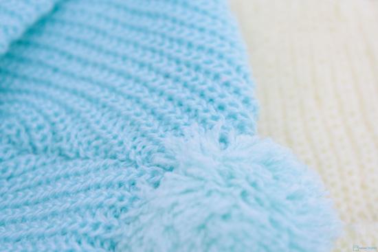 Combo 3 Mũ len che tai cho bé sơ sinh - 9 tháng tuổi - 4