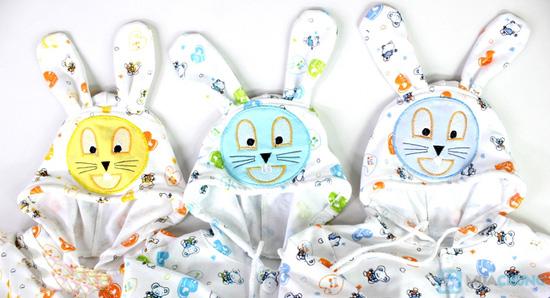 áo khoác thun tai thỏ dành cho bé - Chỉ 68.000đ/ 01 chiếc - 1