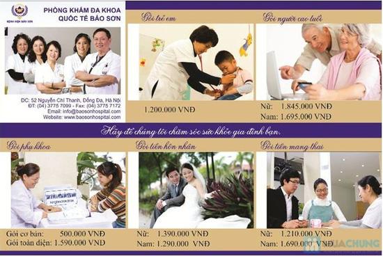 Voucher khám sức khỏe tại Phòng khám Đa khoa Bảo Sơn - Chỉ với 250.000đ được phiếu 500.000đ - 5