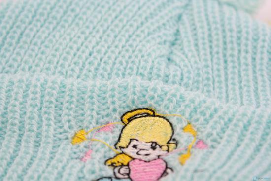 Combo 3 Mũ len che tai cho bé sơ sinh - 9 tháng tuổi - 5