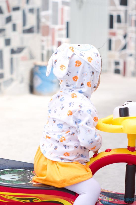 áo khoác thun tai thỏ dành cho bé - Chỉ 68.000đ/ 01 chiếc - 14