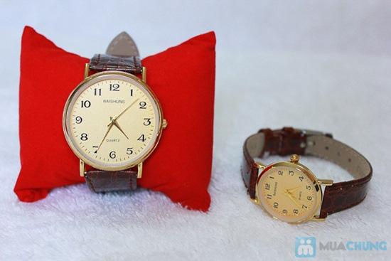 Đồng hồ đôi Baisuns - Món quà tuyệt vời cho tình yêu của bạn - Chỉ với 185.000đ/02 chiếc - 2