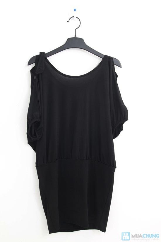 Đầm đen dự tiệc tay xẻ sexy - Thiết kế đột phá, cực ấn tượng - Chỉ 120.000đ - 9