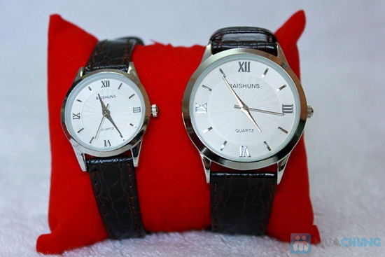 Đồng hồ đôi Baisuns - Món quà tuyệt vời cho tình yêu của bạn - Chỉ với 185.000đ/02 chiếc - 5