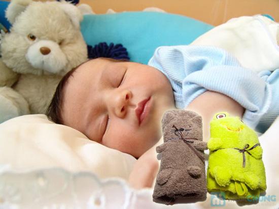 Mền bông hình thú, nâng niu giấc ngủ cho thiên thần nhỏ của bạn - Chỉ 120.000đ/cái - 1