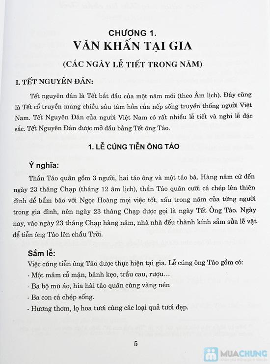 Tập văn cúng gia tiên + Thọ mai gia lễ - phong tục dân gian về cưới hỏi ma chay của người Việt Nam. Chỉ với 47.000đ - 3