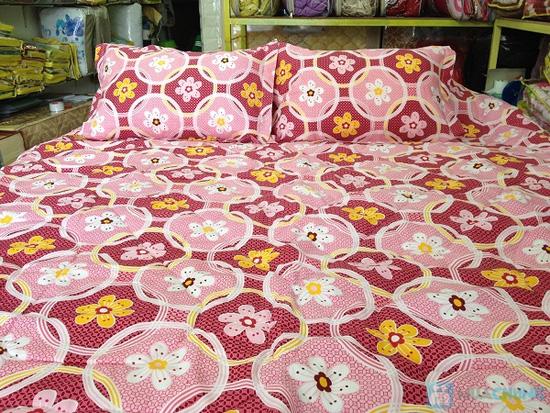 Bộ Drap + chăn vải Kate - Chỉ 325.000đ - 12
