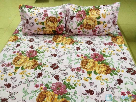 Bộ Drap + chăn vải Kate - Chỉ 325.000đ - 2