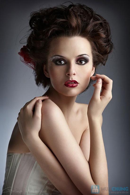 Trang điểm, làm tóc dạ hội 01 lần tại Express Salon - Chỉ với 95.000đ - 7