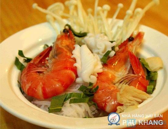 Buffet tối thứ 3 đến Chủ nhật t tại nhà hàng hải sản Phú Khang - Chỉ 199.000đ/vé - 5