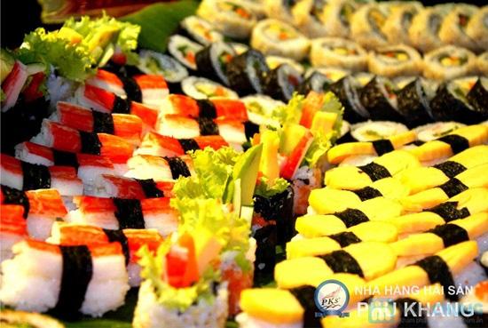 Buffet tối thứ 3 đến Chủ nhật t tại nhà hàng hải sản Phú Khang - Chỉ 199.000đ/vé - 10