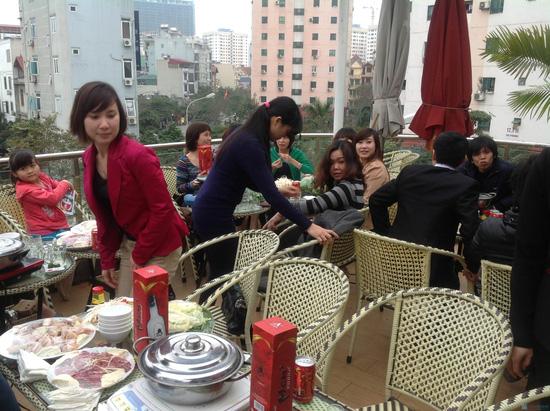 Set ăn lẩu gà hoặc lẩu ếch- S cafe - 2