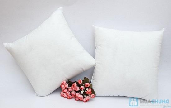 Combo 02 vỏ gối tựa sofa vải gấm - 3