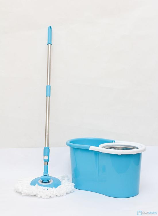 Cây lau nhà 360 độ Easy Mop lồng Inox - 2