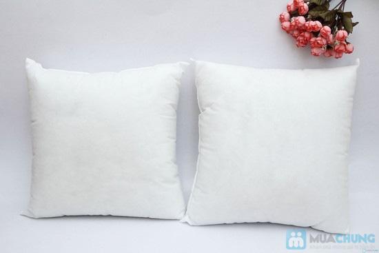 Combo 02 vỏ gối tựa sofa vải gấm - 5