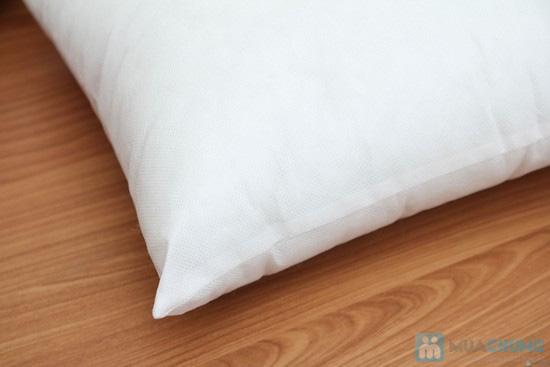 Combo 02 vỏ gối tựa sofa vải gấm - 2