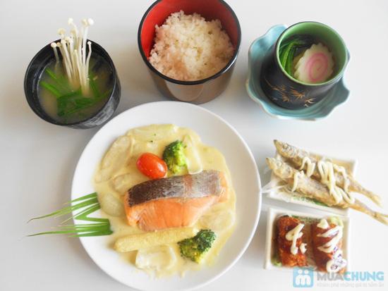 Chọn 01 trong 05 set ăn trưa kiểu Nhật tại NH Shabu Sushi - Chỉ 75.000đ - 8