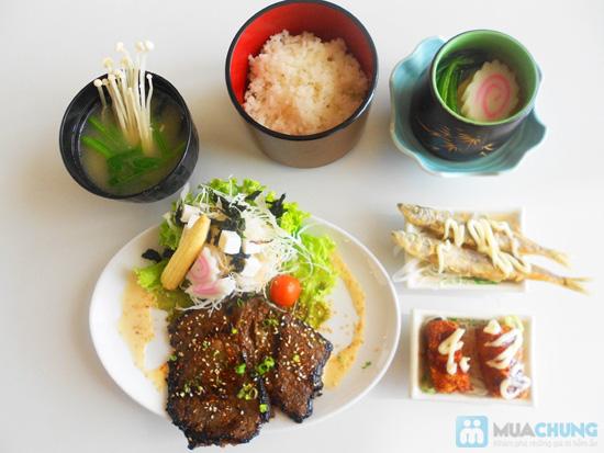 Chọn 01 trong 05 set ăn trưa kiểu Nhật tại NH Shabu Sushi - Chỉ 75.000đ - 11