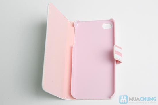 Bao da + Miếng dán màn hình cho iPhone 4 - 2