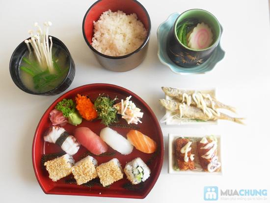 Chọn 01 trong 05 set ăn trưa kiểu Nhật tại NH Shabu Sushi - Chỉ 75.000đ - 10