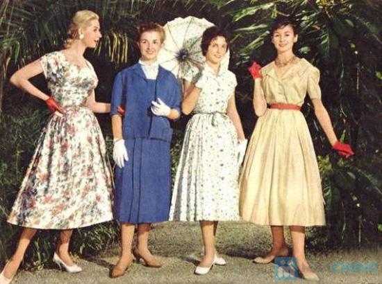 Váy hoa dịu dàng xếp ly - 3