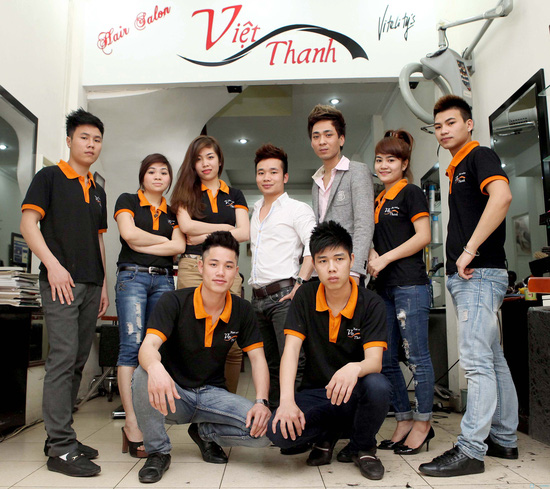 Cắt + Nhuộm, Uốn hoặc Ép Salon Việt Thanh - Chỉ với 480.000đ - 6