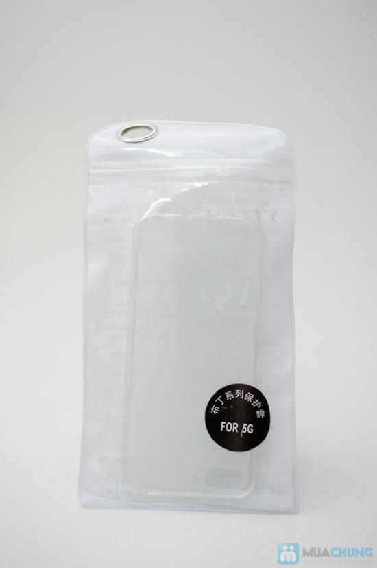 Ốp lưng Silicon cao cấp cho iPhone 5 - Chỉ 60.000đ/2 cái - 6