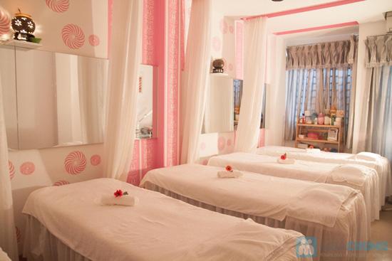 Gói 4 Dịch vụ: Massage body + vai + cổ + đầu tại Saigon Vina Spa - Chỉ 55.000đ - 4