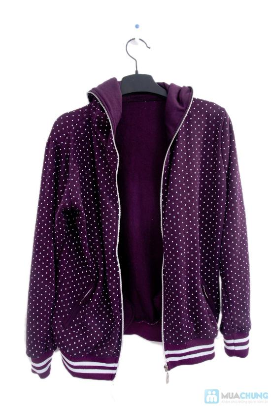 Nữ tính và sành điệu với áo khoác chấm bi xinh xắn dành cho bạn gái - Chỉ 95.000đ/01 chiếc - 4