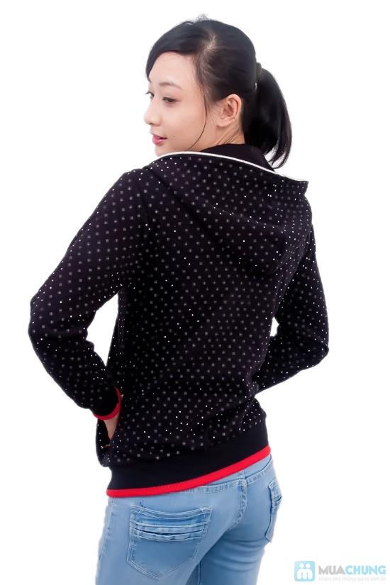 Nữ tính và sành điệu với áo khoác chấm bi xinh xắn dành cho bạn gái - Chỉ 95.000đ/01 chiếc - 3