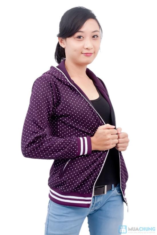 Nữ tính và sành điệu với áo khoác chấm bi xinh xắn dành cho bạn gái - Chỉ 95.000đ/01 chiếc - 2