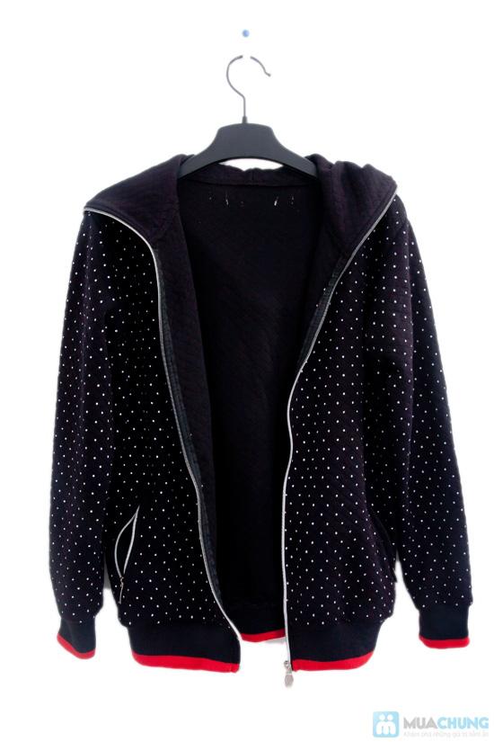 Nữ tính và sành điệu với áo khoác chấm bi xinh xắn dành cho bạn gái - Chỉ 95.000đ/01 chiếc - 5