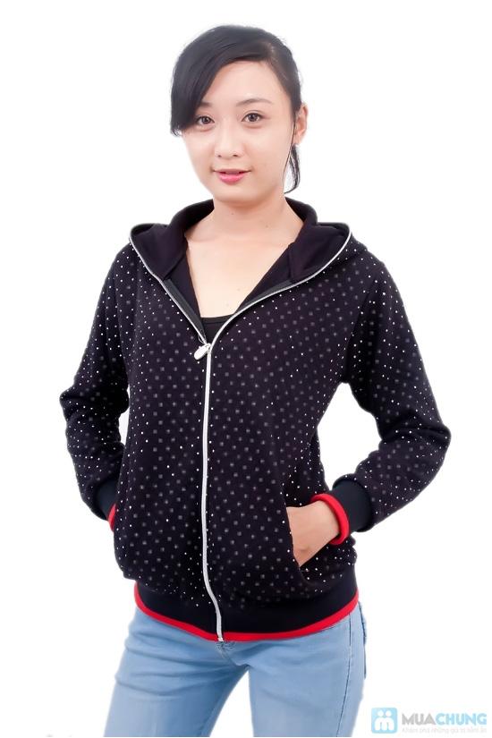 Nữ tính và sành điệu với áo khoác chấm bi xinh xắn dành cho bạn gái - Chỉ 95.000đ/01 chiếc - 1