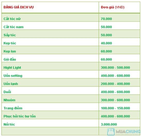 Chọn 01 trong 03 dịch vụ làm tóc không bù tiền tại Viện tóc Định Tân Bình - Chỉ 230.000đ - 1