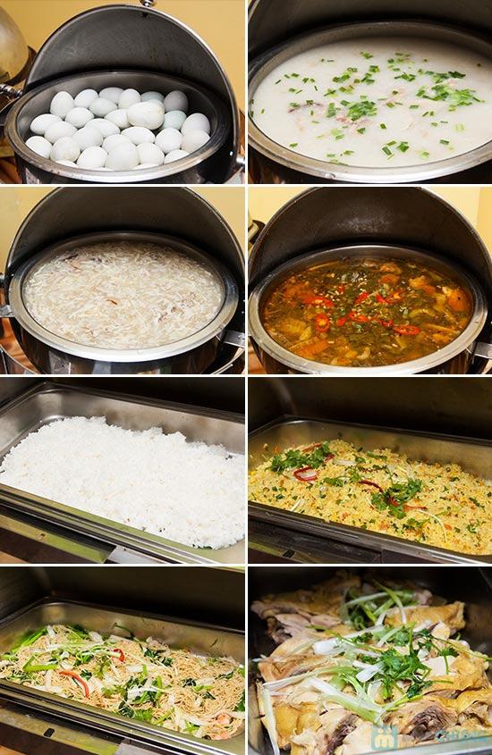 Buffet Gánh dành cho buổi trưa tại Khách sạn Bông Sen Quận 1 với hơn 40 món ăn đặc sắc 3 miền - Chỉ 319.000đ/ 1 người - 2