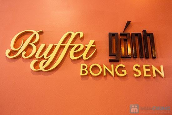 Buffet Gánh dành cho buổi trưa tại Khách sạn Bông Sen Quận 1 với hơn 40 món ăn đặc sắc 3 miền - Chỉ 319.000đ/ 1 người - 6