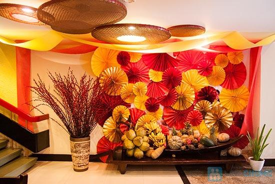 Buffet Gánh dành cho buổi trưa tại Khách sạn Bông Sen Quận 1 với hơn 40 món ăn đặc sắc 3 miền - Chỉ 319.000đ/ 1 người - 17