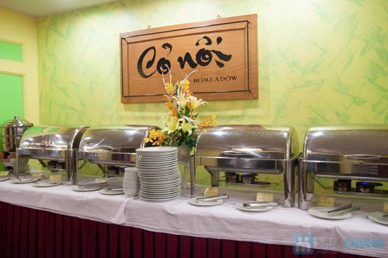 Buffet chay trưa và tối vào các ngày 14,15 - 30, 01 âm lịch tại Nhà Hàng Cỏ Nội - Chỉ 112.000đ - 9