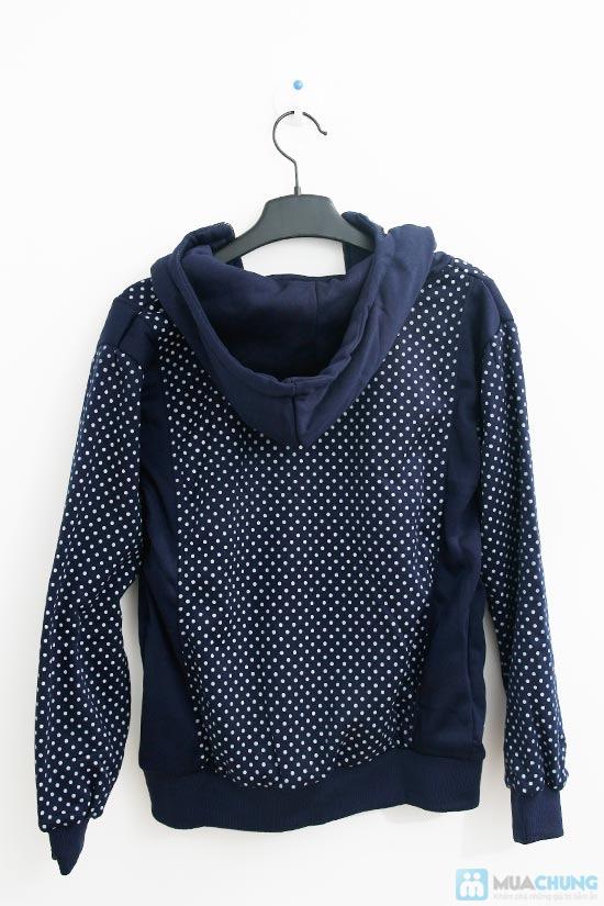 Nữ tính và sành điệu với áo khoác chấm bi xinh xắn dành cho bạn gái - Chỉ 140.000đ/01 chiếc - 2